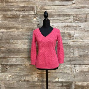 🌺Bright Pink Banana Republic Sweater🌺